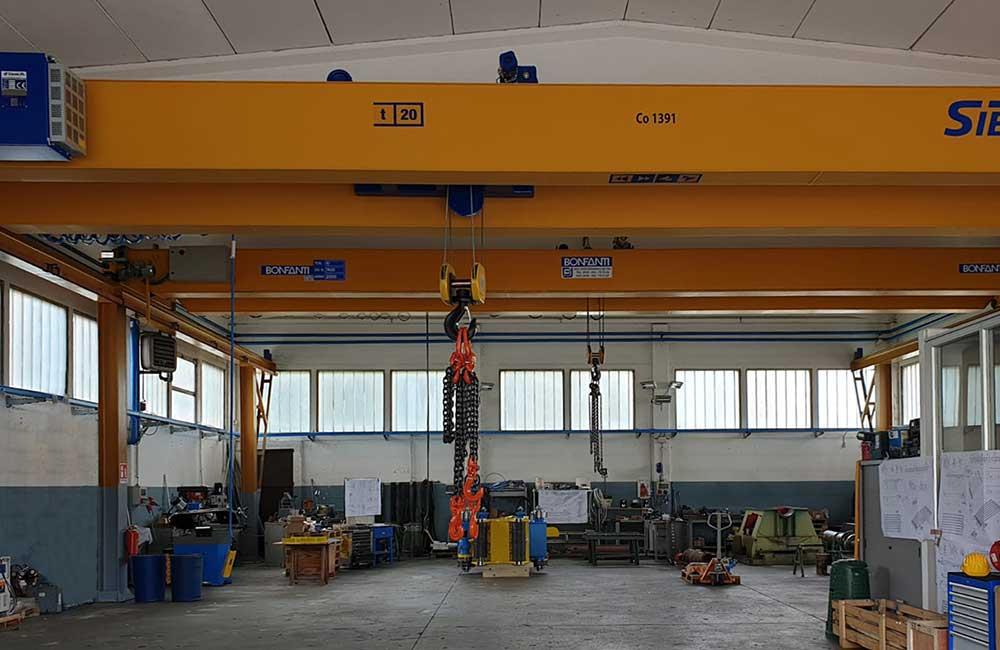 Montaggi meccanici, manutenzioni meccaniche, installazioni ed espianti macchinari e linee industriali, costruzioni a disegno - Meccanica Magli Natale